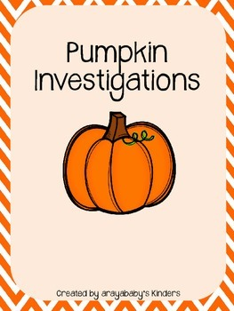 Exploring Pumpkins Activity Packet