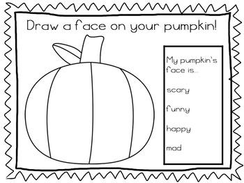 Exploring Pumpkins Mini Book
