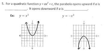 Exploring Quadratic Functions