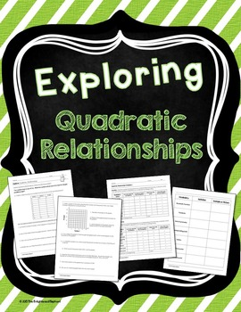 Quadratic Relationship Exploration Activity