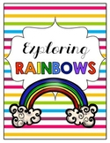 Exploring Rainbows Activity Packet