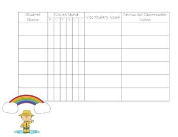 Exploring Rainbows - PreK Science