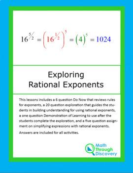 Exploring Rational Exponents