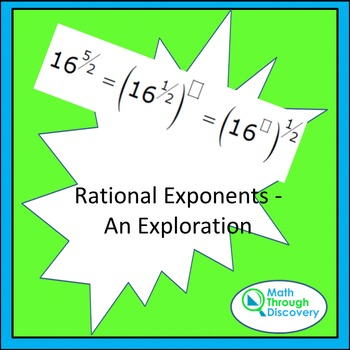Rational Exponents - An Exploration