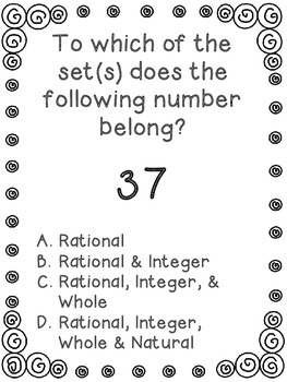 Exploring Rational Numbers - Sets and Subsets - Gr. 6