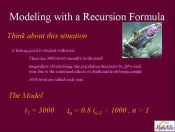 Exploring Recursion Formulas