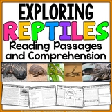 Reptiles - Reading Passages and Comprehension Activities