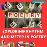 Exploring Rhythm and Meter in Poetry | Google Slides | Editable