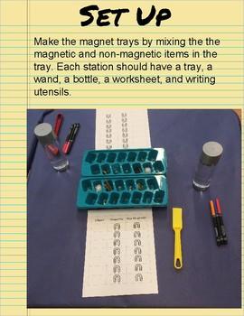 Exploring S.T.E.A.M - Magnets