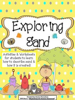 Exploring Sand Activities (CCSS)