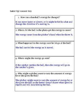 Exploring Science Grade 4: Batter Up!