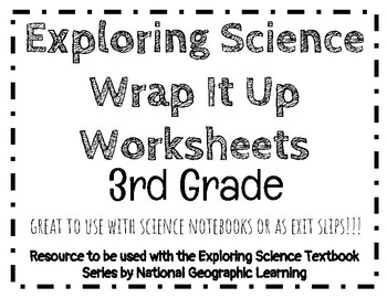 Exploring Science Wrap It Up Questions (3rd Grade)