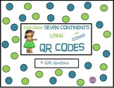 Seven Continents and Oceans using QR Codes