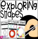 Exploring Shapes {2d shapes}