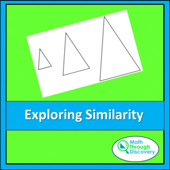 Geometry:  Exploring Similarity with Isosceles Triangles