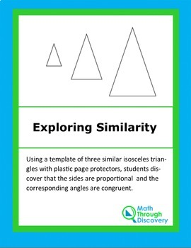 Exploring Similarity with Isosceles Triangles