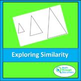Geometry - Exploring Similarity with Isosceles Triangles
