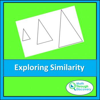 Geometry:  Exploring Similarity with Isosceles Triangles