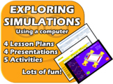 Exploring Simulations - Elementary Computer Skills Unit
