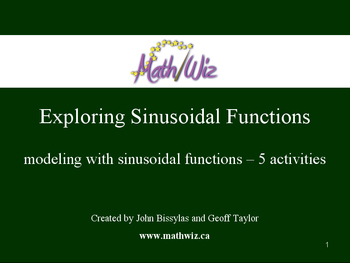 Exploring Sinusoidal Functions