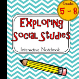 Exploring Social Studies Interactive Notebook Graphic Organizers FREEBIE