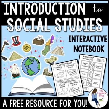 Exploring Social Studies Interactive Notebook Graphic Organizers FREEBIE