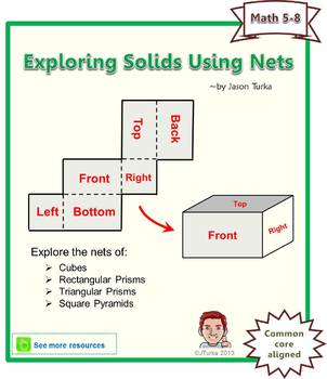 Exploring Solids Using Nets