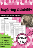 Exploring Solubility