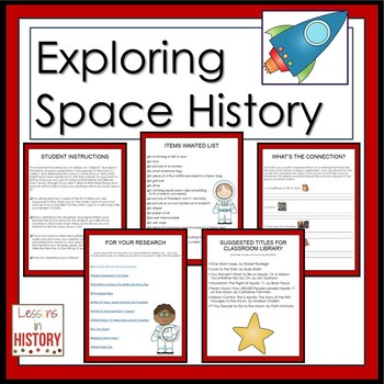 Space Exploration - History in a Box Scavenger Hunt (Research Project)