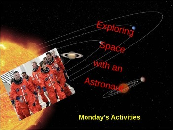 Exploring Space Power Point Presentations Day 1 - Day 5
