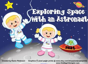 Exploring Space With an Astronaut-Reading Street-Smart Notebook