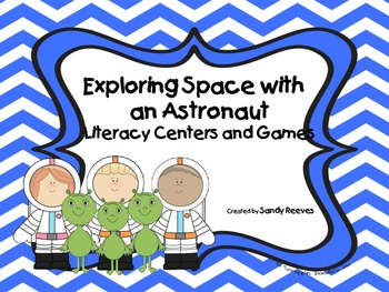 Exploring Space with an Astronaut 2nd Grade Literacy Centers