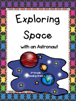 Exploring Space with an Astronaut, 2nd Grade, Reading Street, Printables