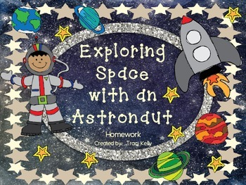 Exploring Space with an Astronaut Homework - Scott Foresman 2nd Grade