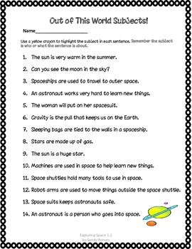 astronaut essay template - photo #31