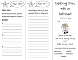 Exploring Space with an Astronaut Trifold - Reading Street 2nd Gr Unit 1 Week 2