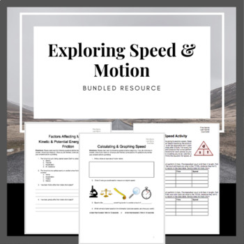 Exploring Speed and Motion Bundle