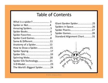 Exploring Spiders!
