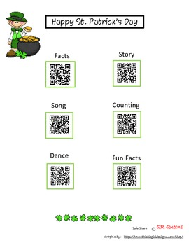St. Patrick's Day with QR codes