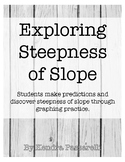 Exploring Steepness of Slope {a student discovery activity}