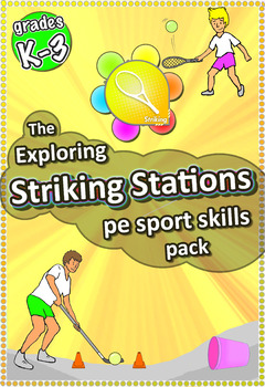 Exploring Striking Stations - PE Sport Skill activities fo