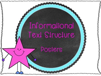 Text Structure Posters