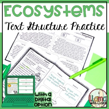 Exploring Text Structure with Ecosystems