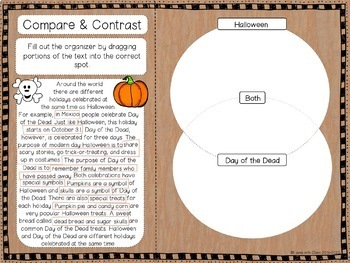 Exploring Text Structure with Halloween