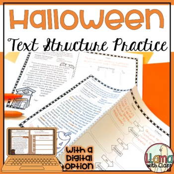 Text Structure Practice with Halloween