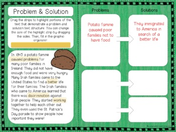 Exploring Text Structure Holiday Bundle