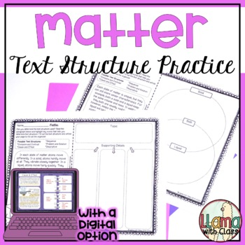 Exploring Text Structure with Matter