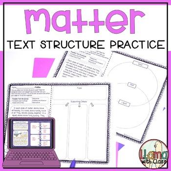Matter Text Structure Practice