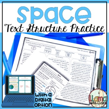 Space Text Structure Practice