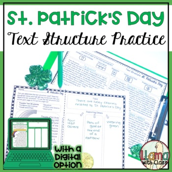 Exploring Text Structure with St. Patrick's Day